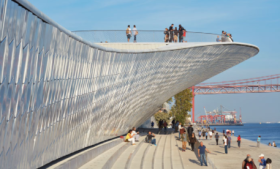 MAAT's new curvy form in Lisbon photo Paul Raftery